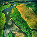 - Rzeka Wieprz w Jeziorzanach