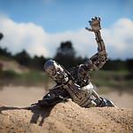 A na plaży Terminator się smaży :)